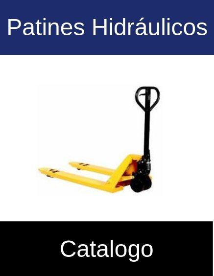 Catálogo patines hidraulicos