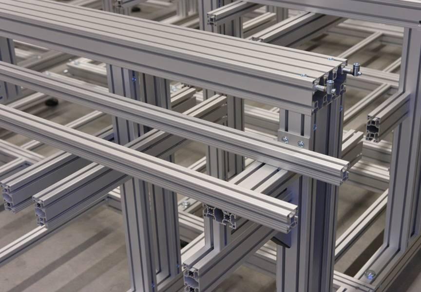 perfiles aluminio estructural
